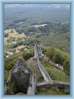 Bezděz - Pohled z věže