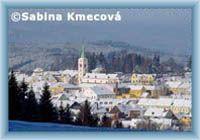 Zimní Kašperské Hory