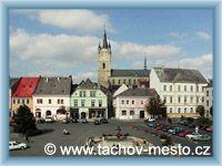 Tachov - Náměstí republiky