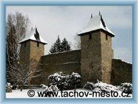 Tachov - Hradby