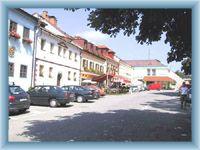 Centrum obce Frymburk