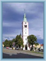 Kostel v Kašperských Horách