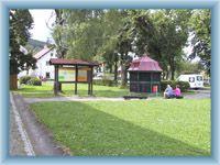 Centrum obce Srní