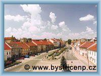 Bystřice nad Pernštejnem - Masarykovo náměstí