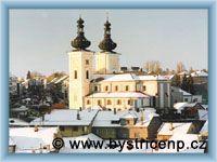 Bystřice nad Pernštejnem - Kostel sv. Vavřince