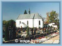 Bystřice nad Pernštejnem - Hřbitovní kostel Nejsvětější Trojice