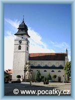 Počátky - Kostel sv. Jana Křtitele