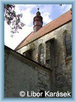 Slavonice - Kostel Božího Těla