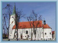 Třešť - Kostel sv.Kateřiny