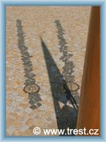Třešť - Sluneční hodiny