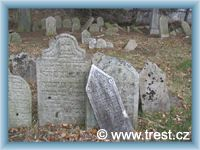 Třešť - Židovský hřbitov