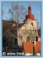 Třešť - Kostel sv. Martina