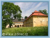 Ždírec nad Doubravou zámek v Novém Studenci