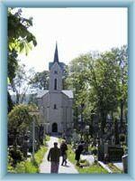 Hřbitovní kostel v Humpolci