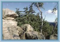 Devět skal - vrcholové skály