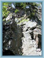Horolezci v údolí Doubravy